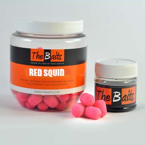 Red Squid Pop-ups